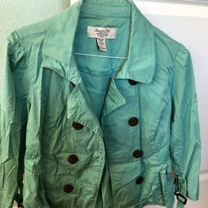 Woman's khaki jacket